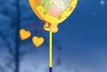 Lampionen om tegearre mei Janna te meitsjen :) / Lampion
