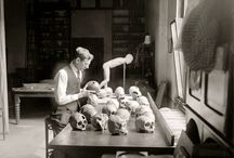1920s Science -  Archeology & Anthropology / Researchers abroad and at home