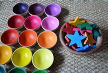 Montessori - idées activités / Montessori
