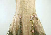 Antique Dresses / evening gowns, costumes
