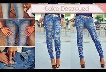 Jeans destroyd