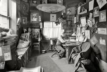 creative workspace / my work = upholstery