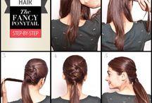 Hair Ideas. / by Abby Hartley