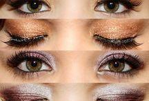 Eyeshadow and hair
