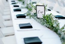 Modern wedding inspiration / Modern, classic and simple wedding ideas