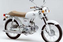 Small Honda Bikes / 50-125 cc