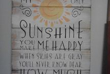 SUNSHINE / by Jenny Gammons