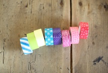 ►washi tapes / by Cintia Yamashiro