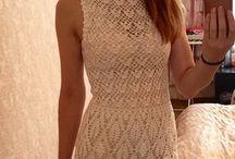 Crochet dress / crochet dress, patterns