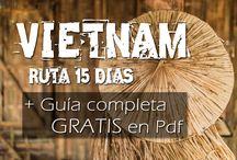 Vietnam / Guia completa para viajar por libre por Vietnam. Imprescindibles Vietnam, que hacer, que ver, como viajar por libre por el pais.