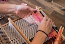 Weven | Weaving / Weefgetouw, weaving loom