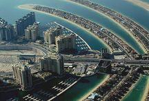 Dubai, the palm jumierah Bach