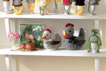 Easter Knitting and Crochet