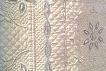 the art of quilting... / quilting the piece...hand or machine...