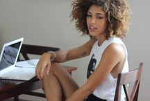Big curly hair <3 / by Ashley-Rose Smith