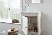 Cloakroom Units and Basins