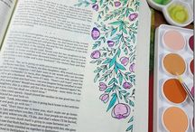 Bible Journaling The Message Canvas