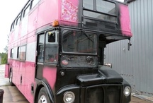 JUSTSO & MCM : The Production / Just So art directed and project managed the creation of a souped up old bus, with monogrammed exterior, plush carpeting, glass presentation cases, a dancing pole and a champagne bar for MCM.  This is how the bus came to fruition...