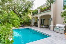 FOR SALE ~ 1866 Tigertail Ave / COCONUT GROVE GEM! Designer finished in earth tones every step of the way! New Walled & Gated Family home w/5 bed/5.5baths +Maids quarters +2 car garage. | Price upon request.
