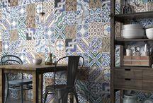 Płytki ceramiczne do kuchni/Ceramic kitchen tiles
