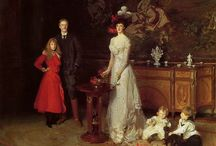 Family affairs / Particularly elaborate family portrayals
