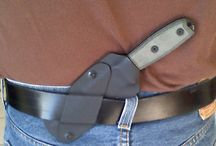 Kydex sheaths and holsters