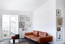 INSPIRATION / Tan Leather Sofas
