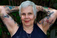 Cool tattoed olders