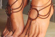 Bracelets de pieds