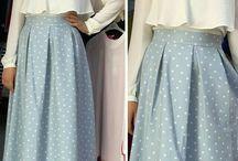 model skirt
