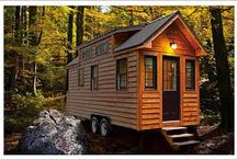 Tiny Houses / Less is more. More is less.
