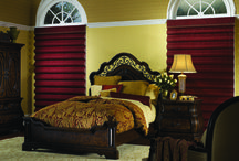 Roman Shades / Roman Shades: If you like fabrics and have a classical taste, Roman Shades are just the right choice for your home. Flat fold or Soft fold, these shades add a classic drape like touch to your interiors. Available with features like Top down-bottoms up, cordless controls, room darkening liners etc. http://www.windowinspirations.ca/