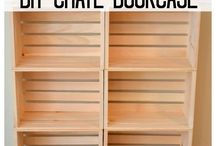 book cases/book room
