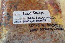 kitchen party/food prep