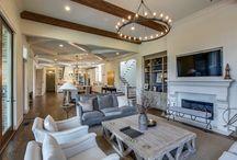 Legend Homes Living Rooms