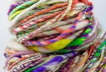 Knitting fibers