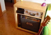 Woodworking - DIY Custom Amp Enclosure / Inspiration. Ideas. And plans if they are even out there.