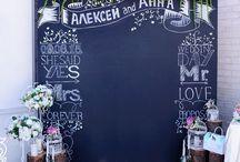 Chalk board/ Event