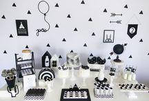 Tema preto e branco