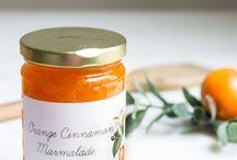 Marmalade and jams