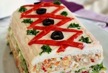 pastel torta salada