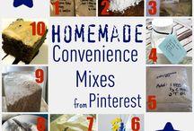 Homemade dry mix - no preservatives!