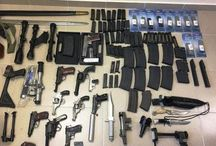 Ολόκληρο οπλοστάσιο βρέθηκε σε σπίτι στον Βόλο - ΦΩΤΟ