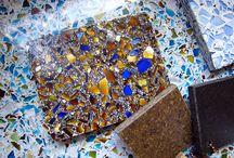 DIY-vidrio reciclado