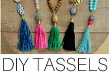 DIY TASSELS NECKLACE