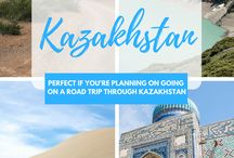Best of Kazakhstan / Get inspiration for your trip to Kazakhstan! Information about Almaty, Astana, Turkistan with itineraries, destination guides and more!