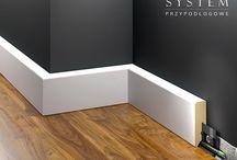 Listwy Przypodlogowe MDF / Listwy przypodlogowe MDF to efektowna forma dekoracji dla Twojego domu, która odmienia aranżację wnętrz.