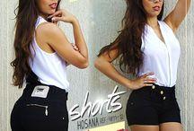 Shorts e Saias / Antecedendo a primavera e o verão 2016, todos esses modelos na promoção!
