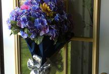 ombrelli con fiori