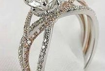 Wedding and Engagement / Hands down the most important piece of jewelry in your life. But, so many to choose from.